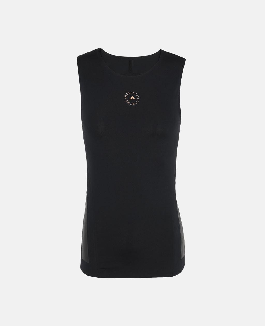 Stella McCartney Black Black Training Vest