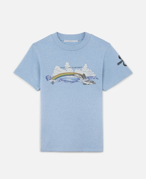 Stella McCartney - Rainbow Dolphin Cotton T-Shirt