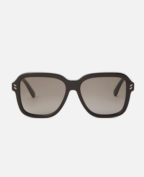 Stella McCartney - Leopard Square Sunglasses