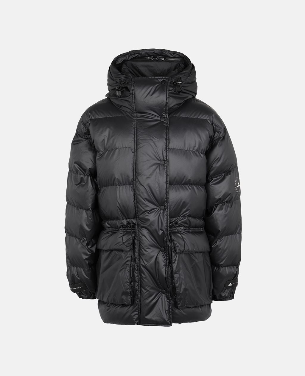 Stella McCartney Black 2-in-1 Mid-Length Padded Jacket