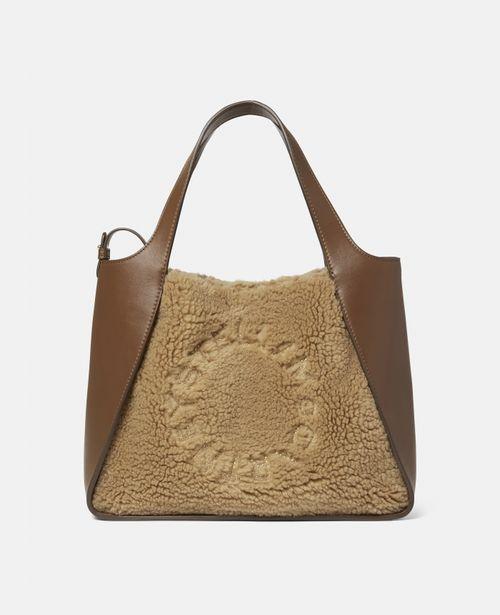 Stella McCartney - Stella Logo Teddy Mat Crossbody Bag