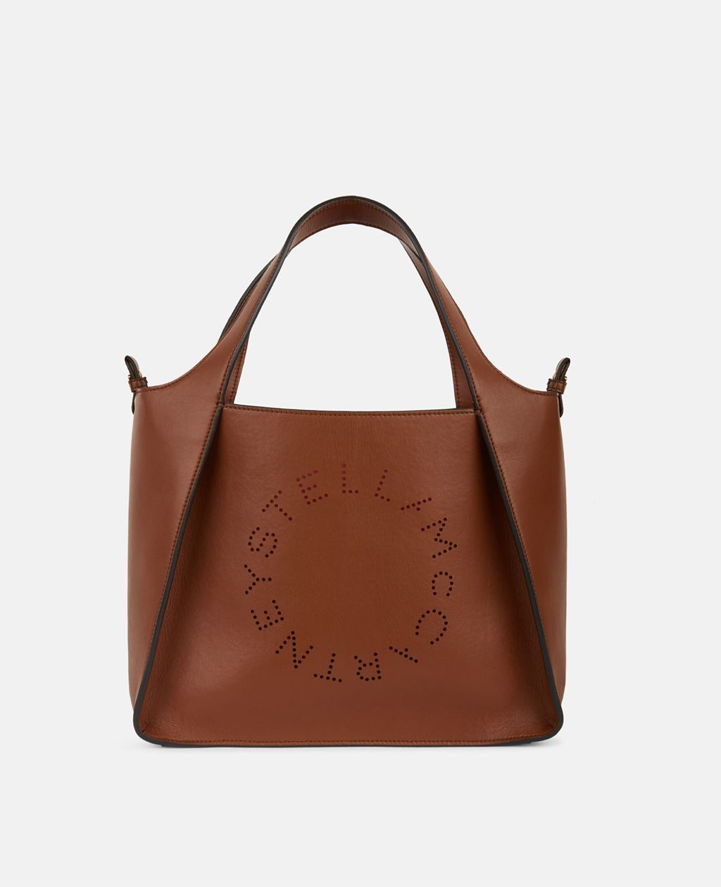 Stella McCartney Brown Stella Logo Cross Body Bag