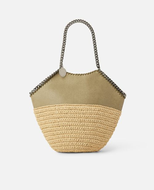 Stella McCartney - Falabella Raffia Medium Tote