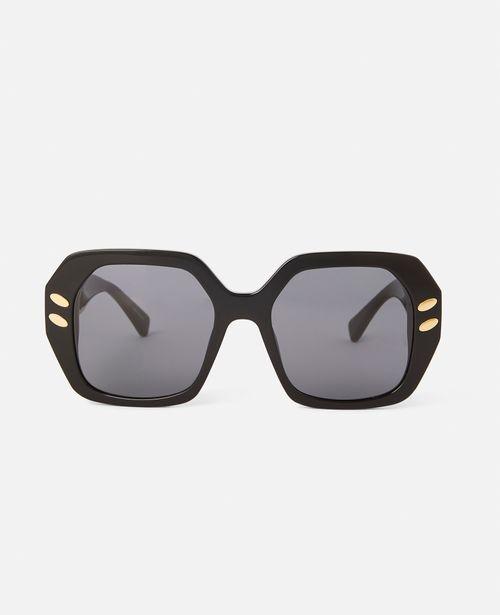 Stella McCartney - Brown Geometric Sunglasses