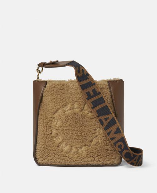Stella McCartney - Stella Logo Teddy Mat Shoulder Bag