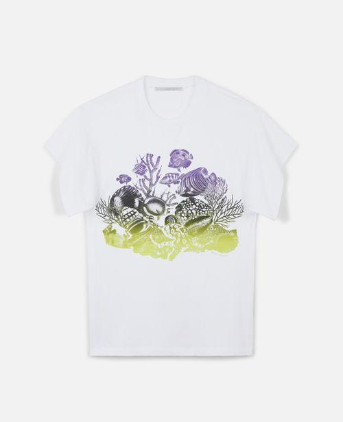 Stella McCartney - Sealife Print Cotton T-Shirt