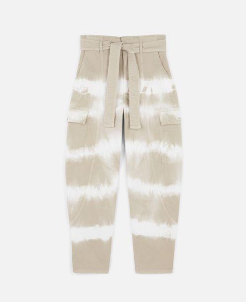 Stella McCartney - Tie-Dye Denim Trousers