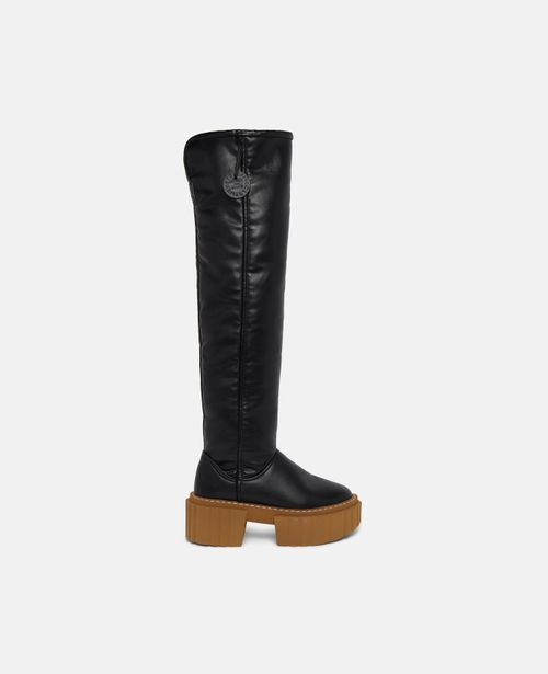 Stella McCartney - Over-The-Knee Emilie Teddy Boots