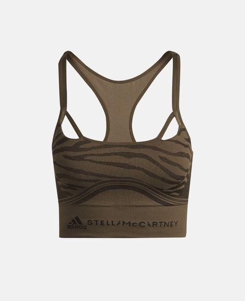 Stella McCartney - Brown TruePurpose Training Bra