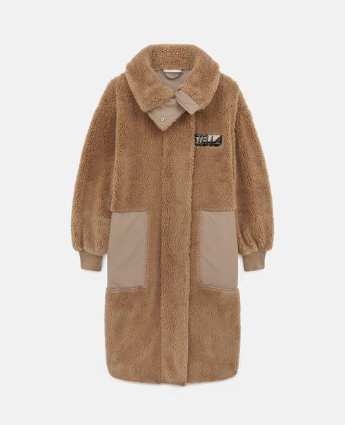 Stella McCartney - Luna Teddy Mat Coat