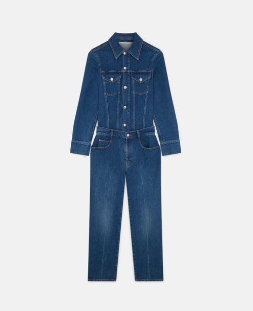 Stella McCartney - Vintage Wash Denim Jumpsuit
