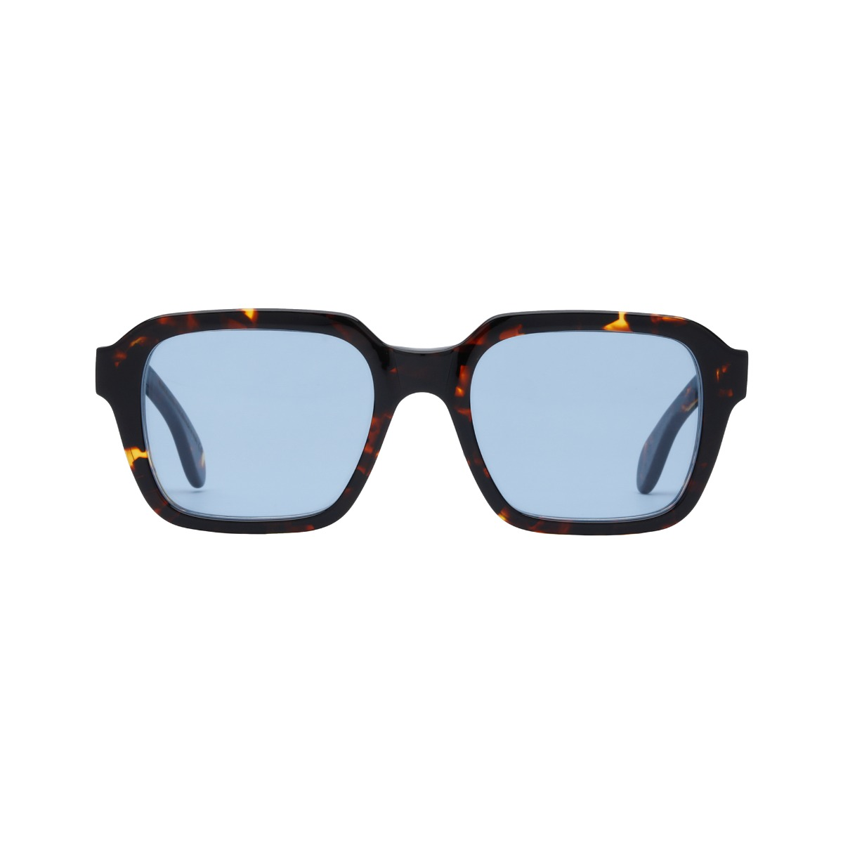 Lino Eco Dark Havana // Blue
