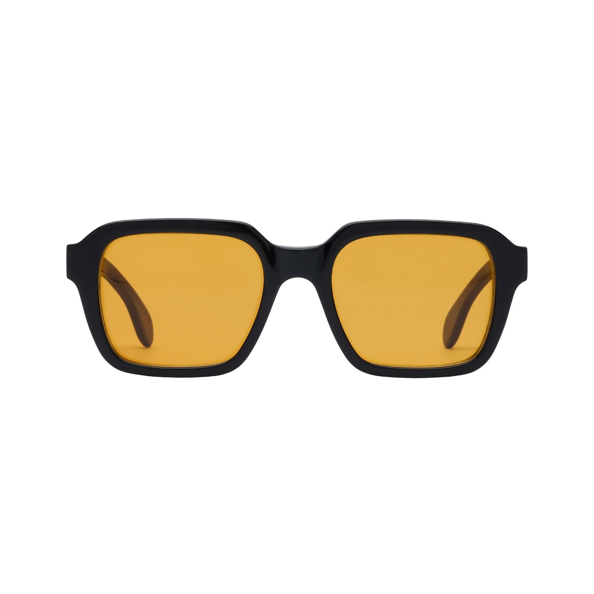 Lino Eco Black // Orange