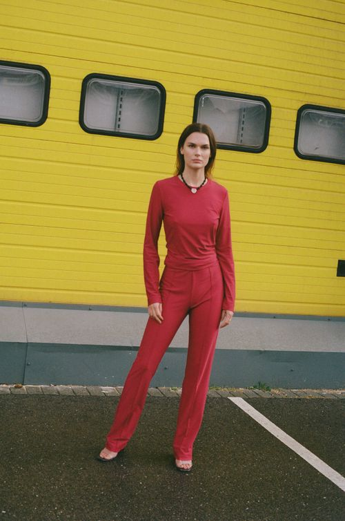 The Everyday Trousers | Plum
