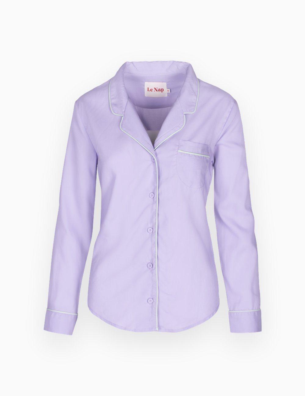 Pyjama Blouse Lavender Love
