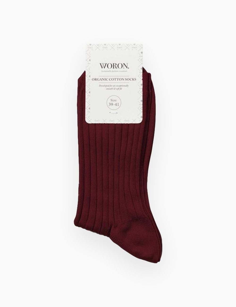 Organic Cotton Socks Wine