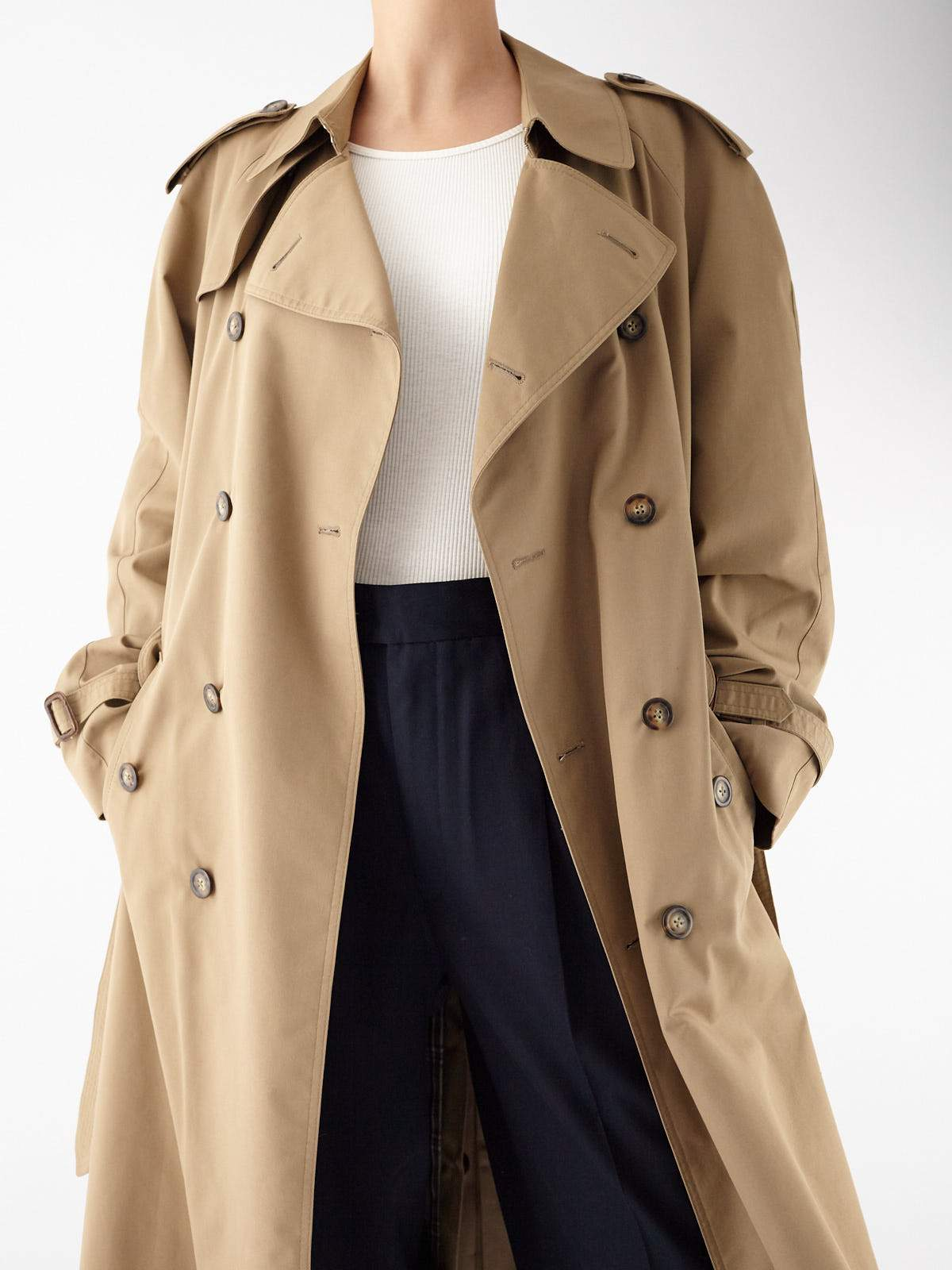 Oversize Trench