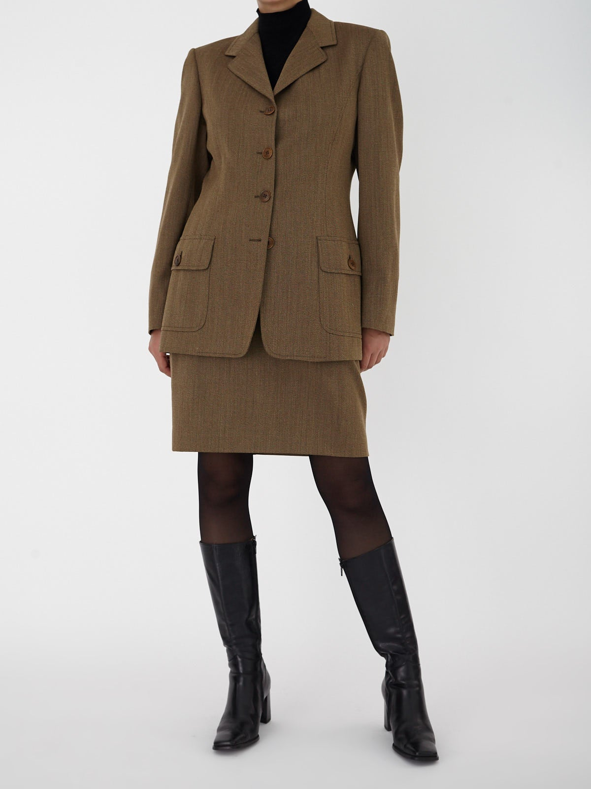 Burberry Skirt Suit
