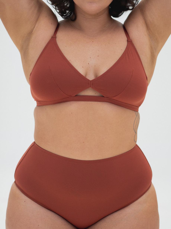 The Nude Label High Waisted Swim Bottom