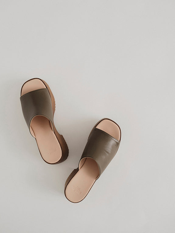 The Nude Label The Wood Sandal