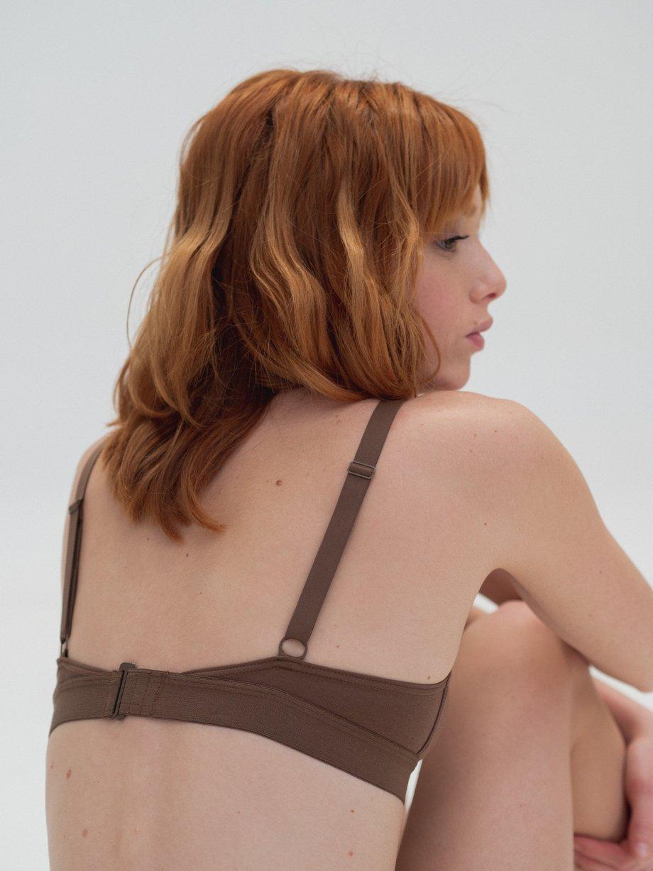 Cut Out Bra Wide Strap