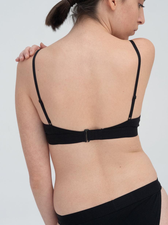 The Nude Label Triangle Bra