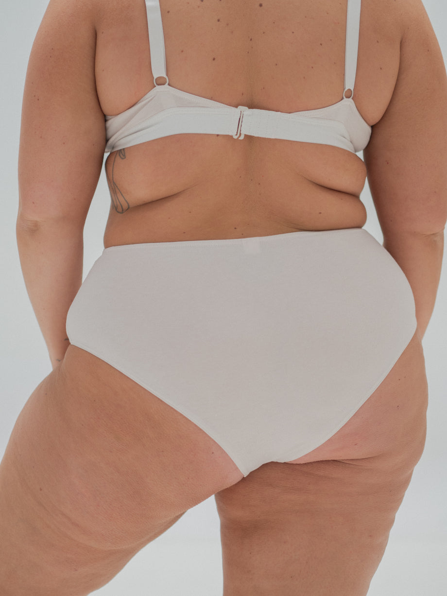 The Nude Label High Waisted Brief