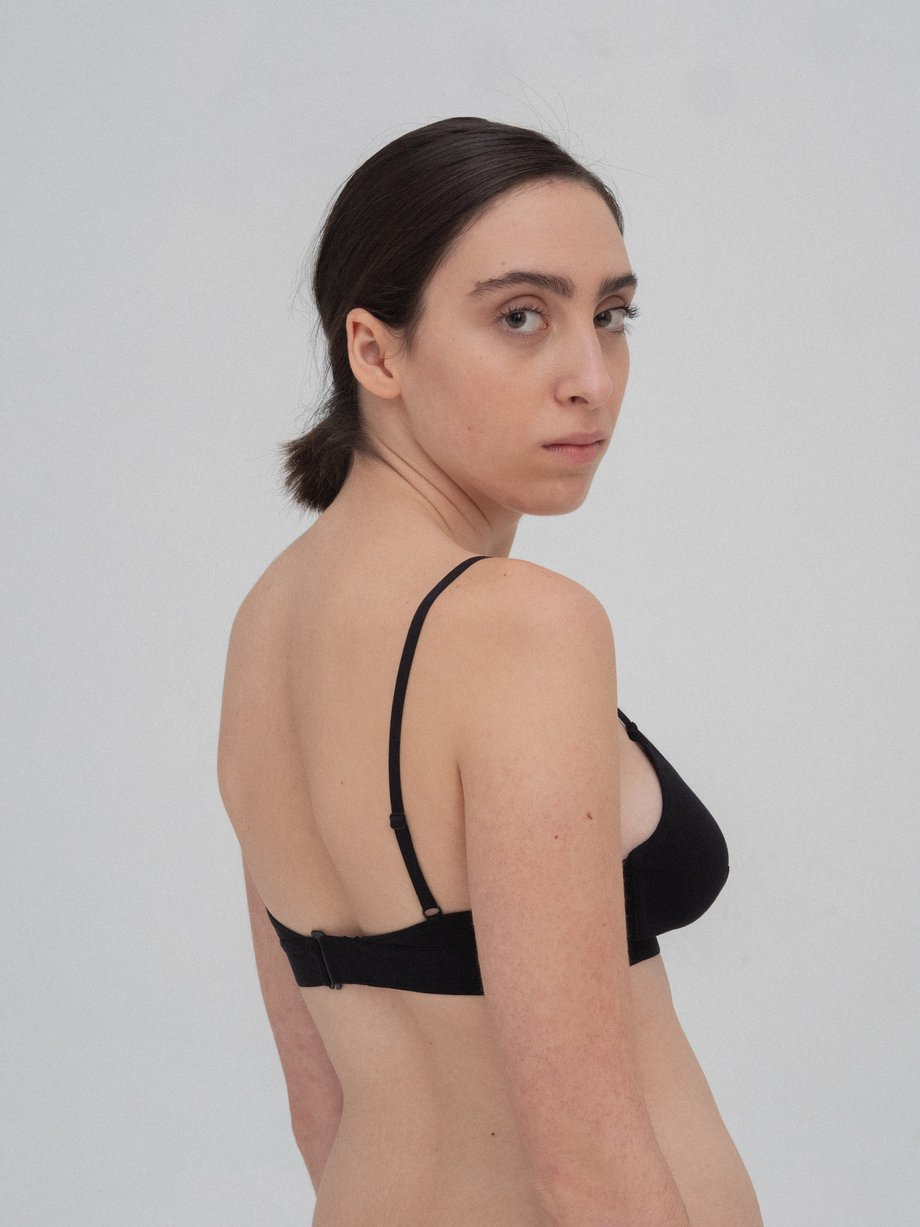 The Nude Label Cut Out Bra - Thin Strap