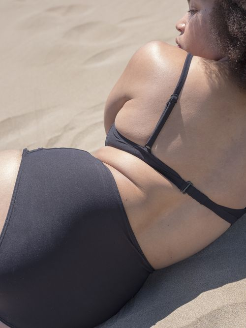 The Cut Out Swim Top