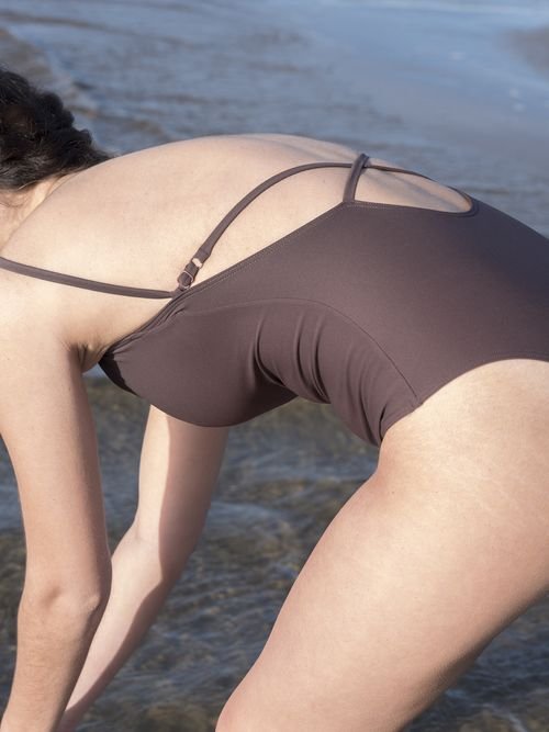 Cross Back Swimsuit