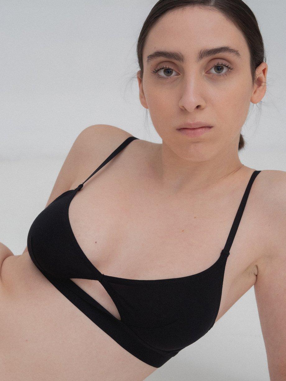 Cut Out Bra - Thin Strap
