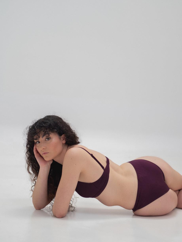 The Nude Label Triangle Swim Top