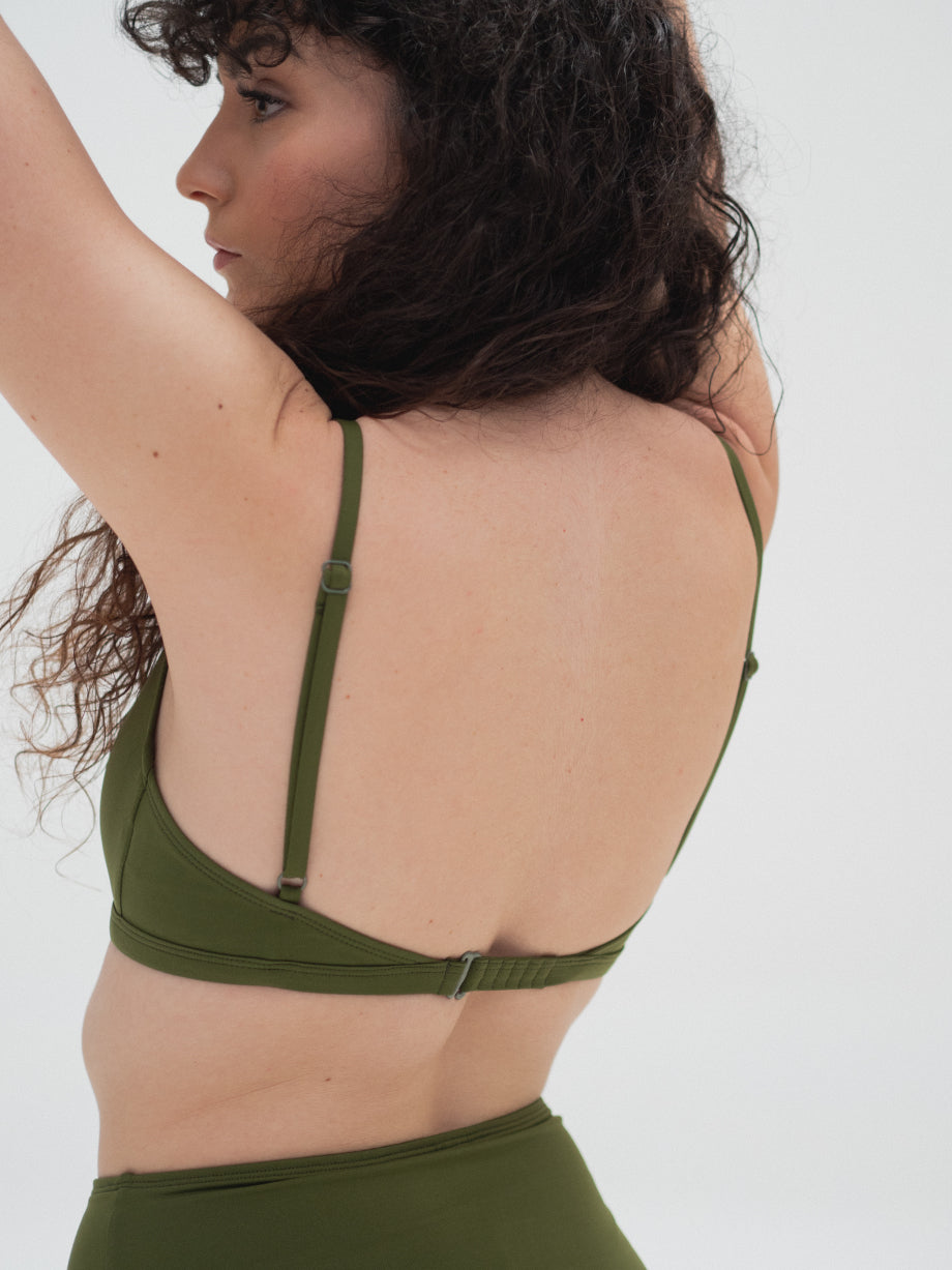 The Nude Label The Cut Out Swim Top