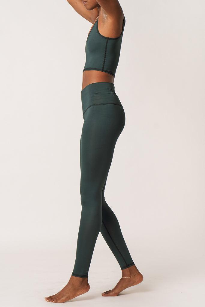 Hot Pant - Solid Hunter Green
