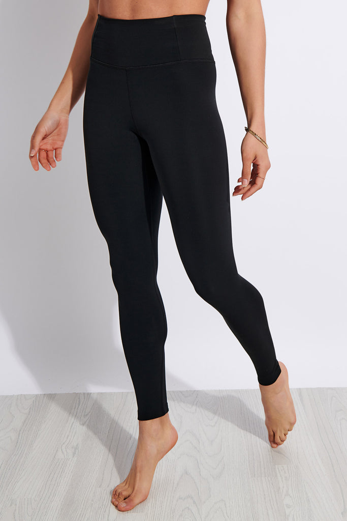 Girlfriend Collective FLOAT High Waisted Legging - Black