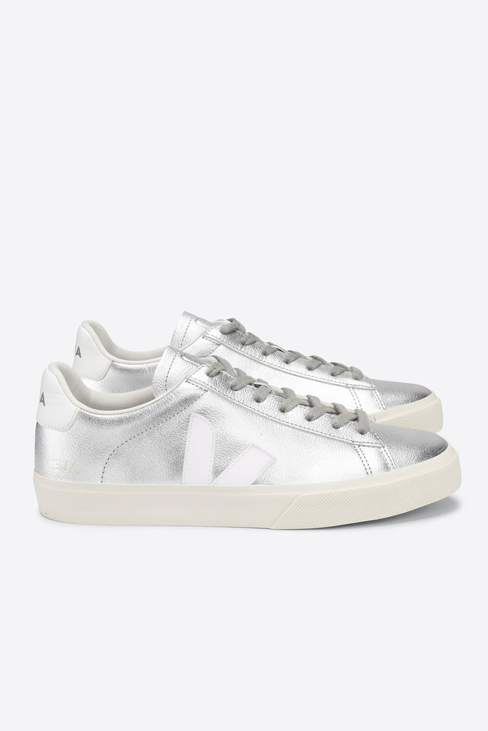 Campo Leather - Silver White | Women's