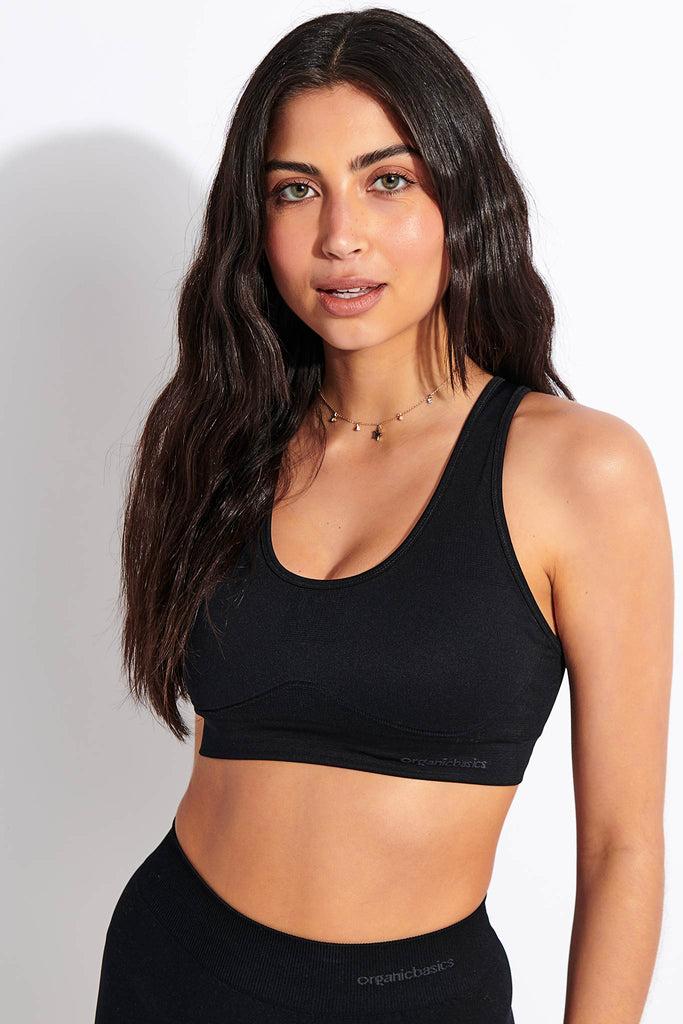 Active Workout Bra - Black