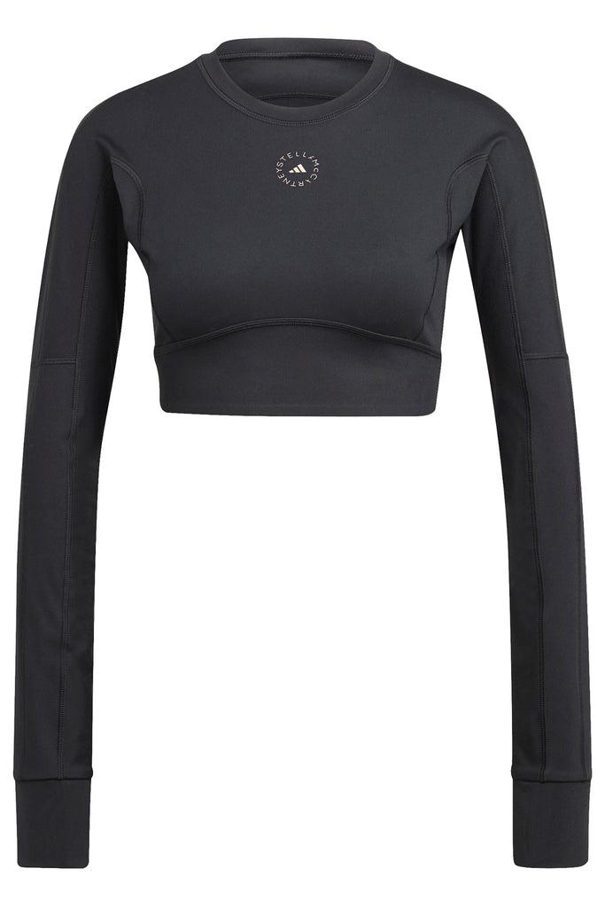 Adidas X Stella McCartney TrueStrength Yoga Crop Top - Black