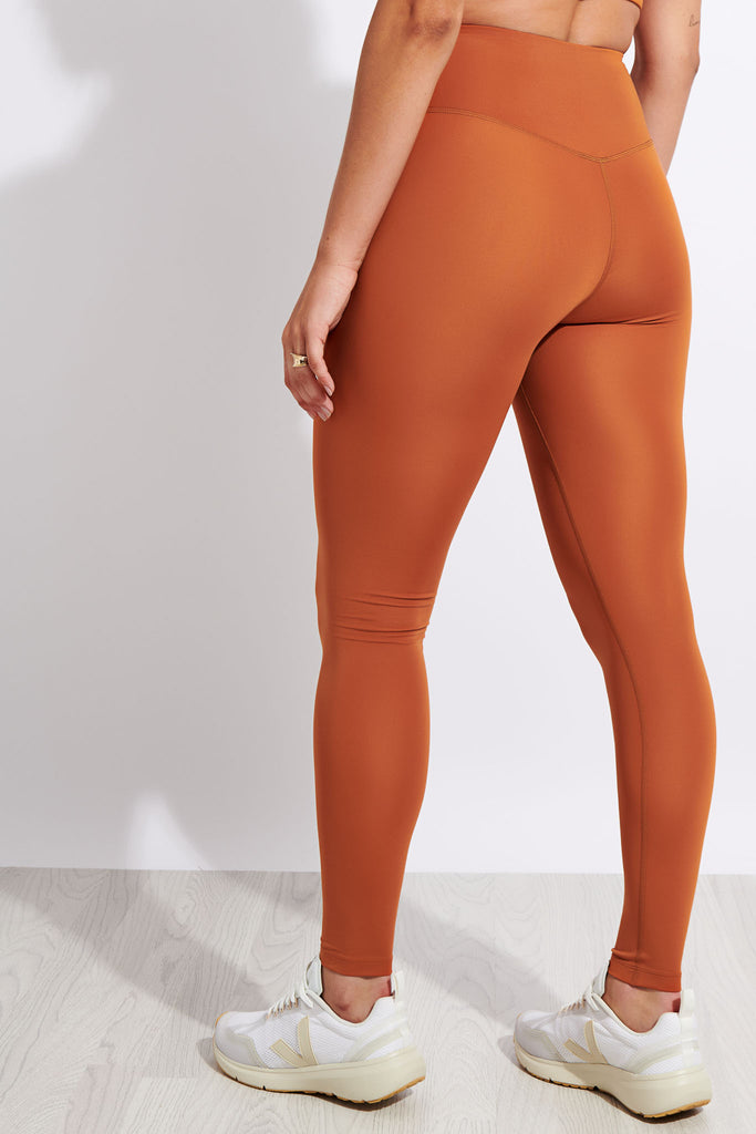 Girlfriend Collective FLOAT High Waisted Legging - Spice