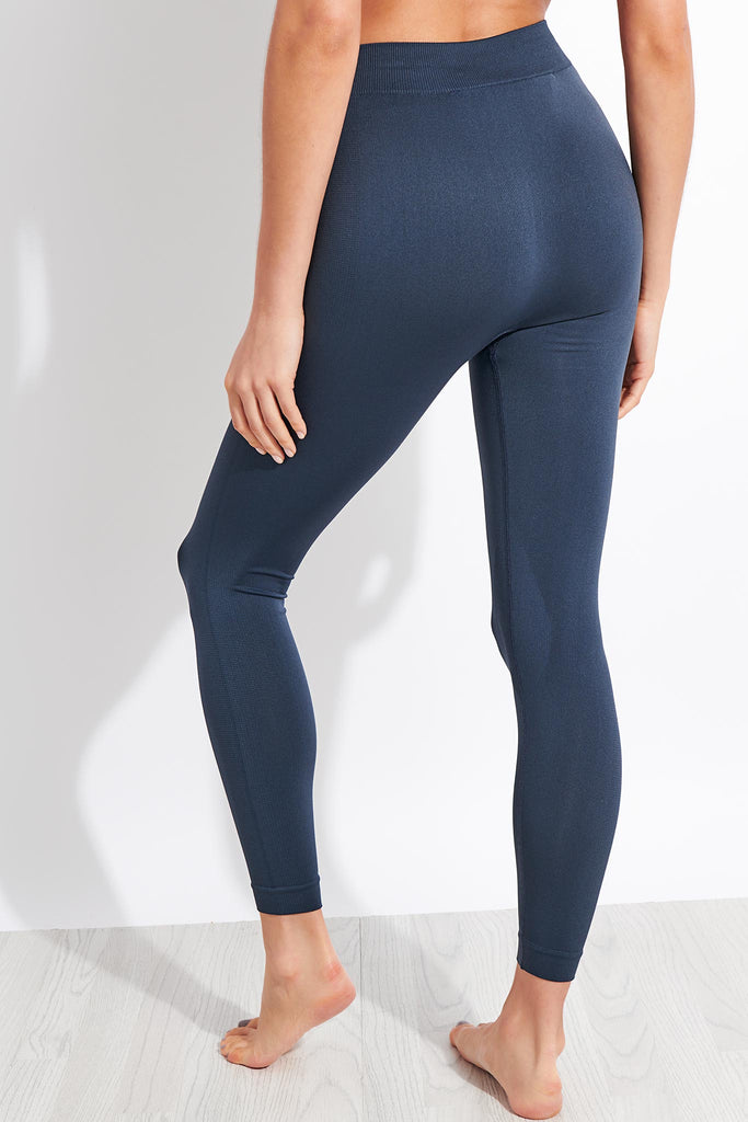 Active Leggings - Dusty Blue