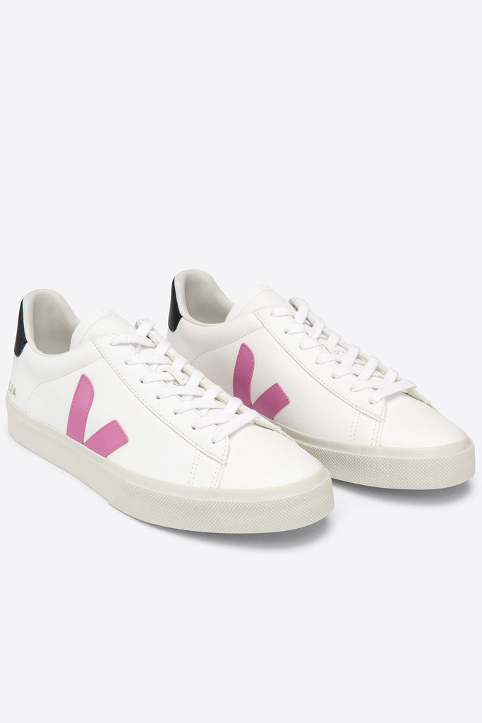 Campo Leather - Extra-White Ultraviolet Black | Women's