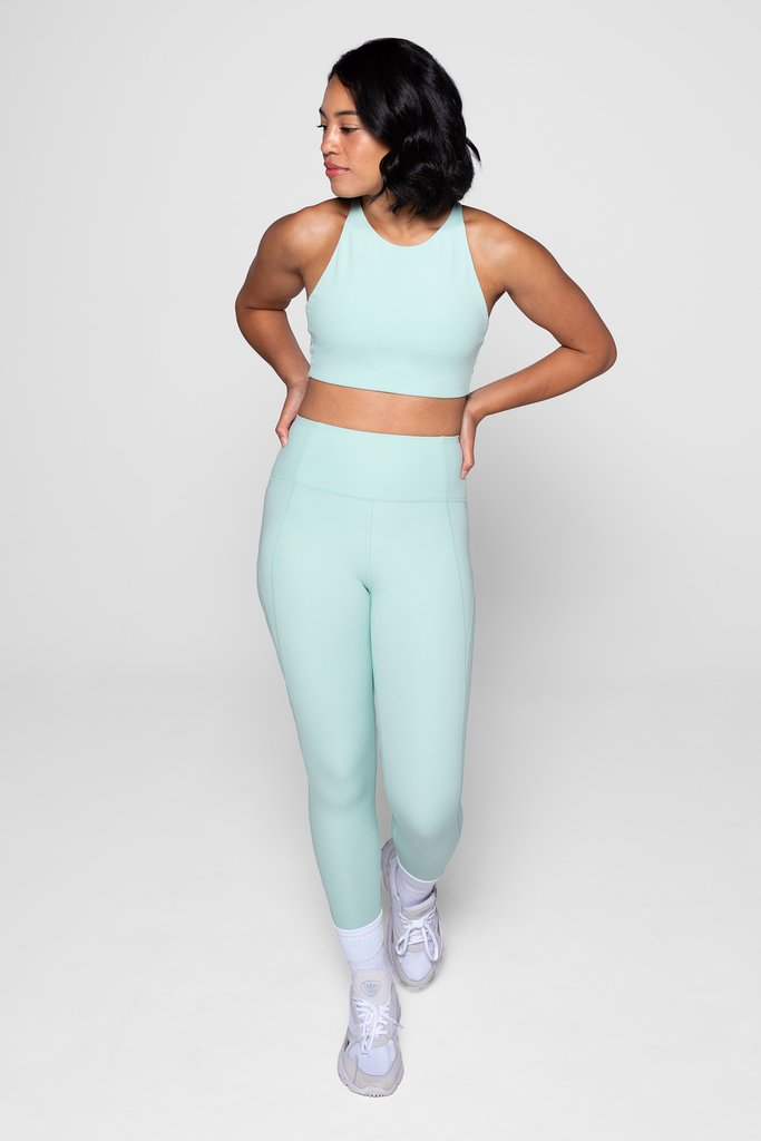 Compressive High Waisted 7/8 Legging - Foam