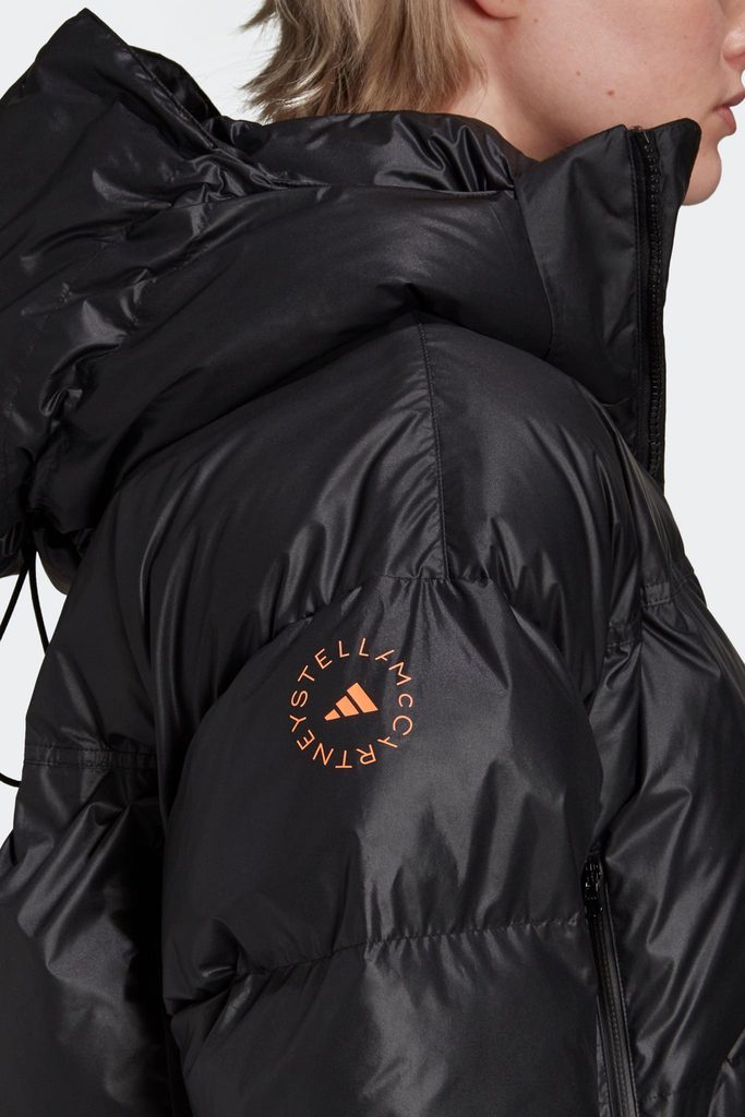 Short Puffer Jacket - Black