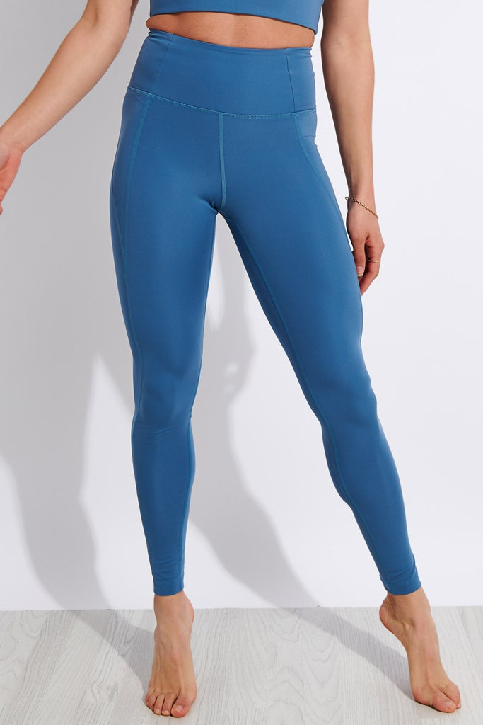 Girlfriend Collective Compressive High Waisted Legging - Monarch