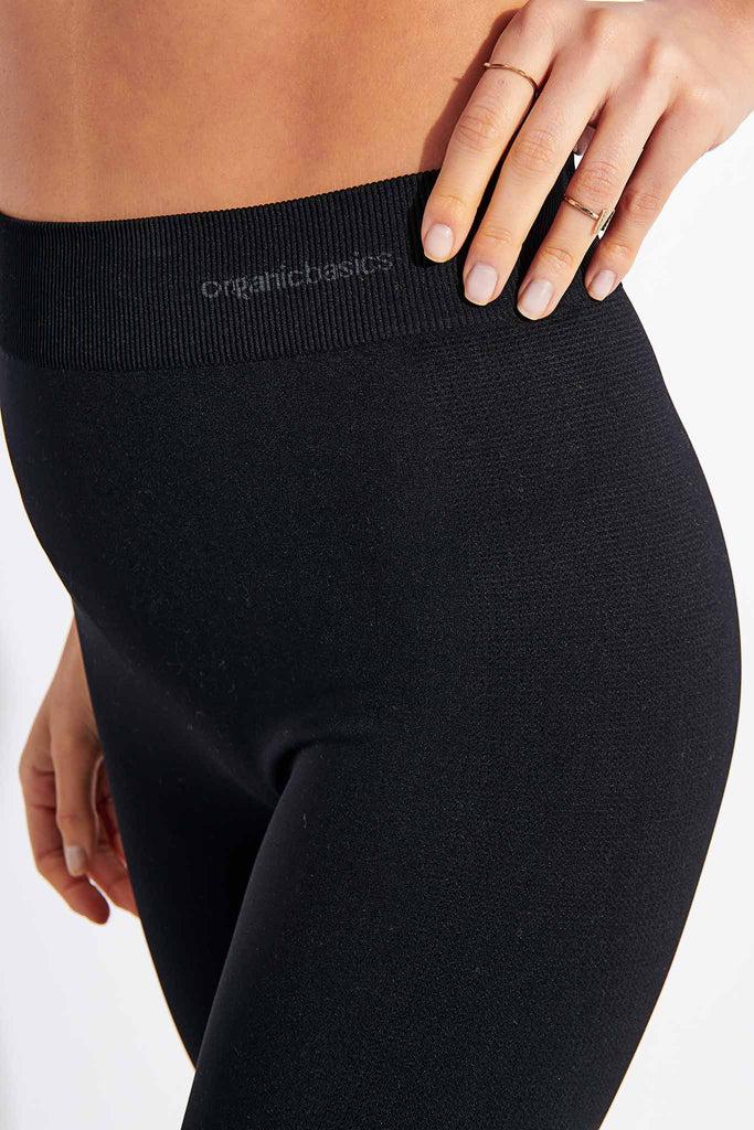 Organic Basics Active Leggings - Black