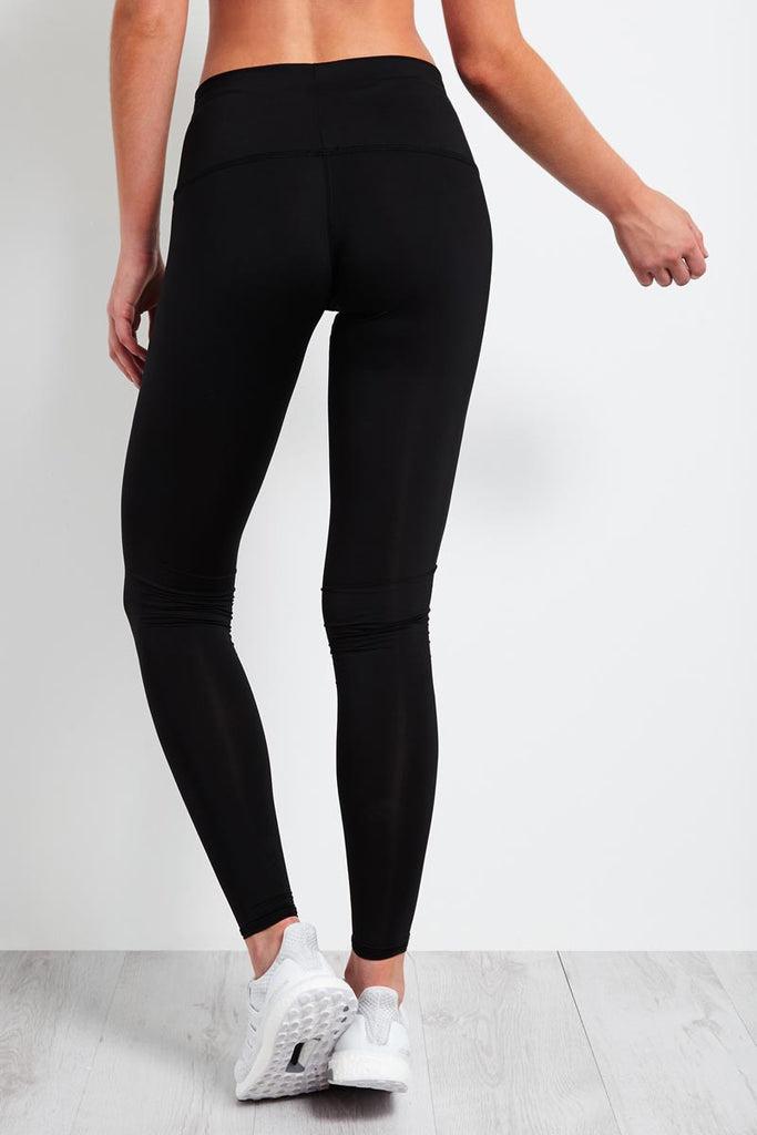 Solid Black Hot Pant