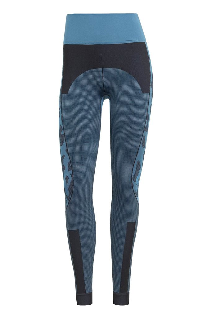 TruePurpose Seamless Leggings - Storm Blue/Black