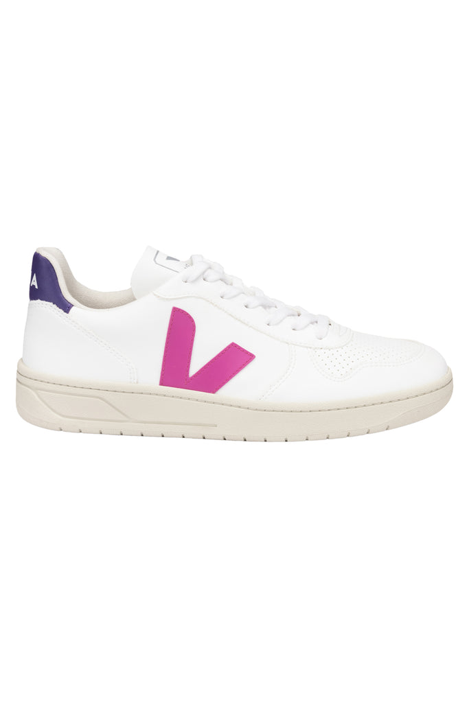 Veja V-10 CWL - White Ultraviolet Purple   Women's