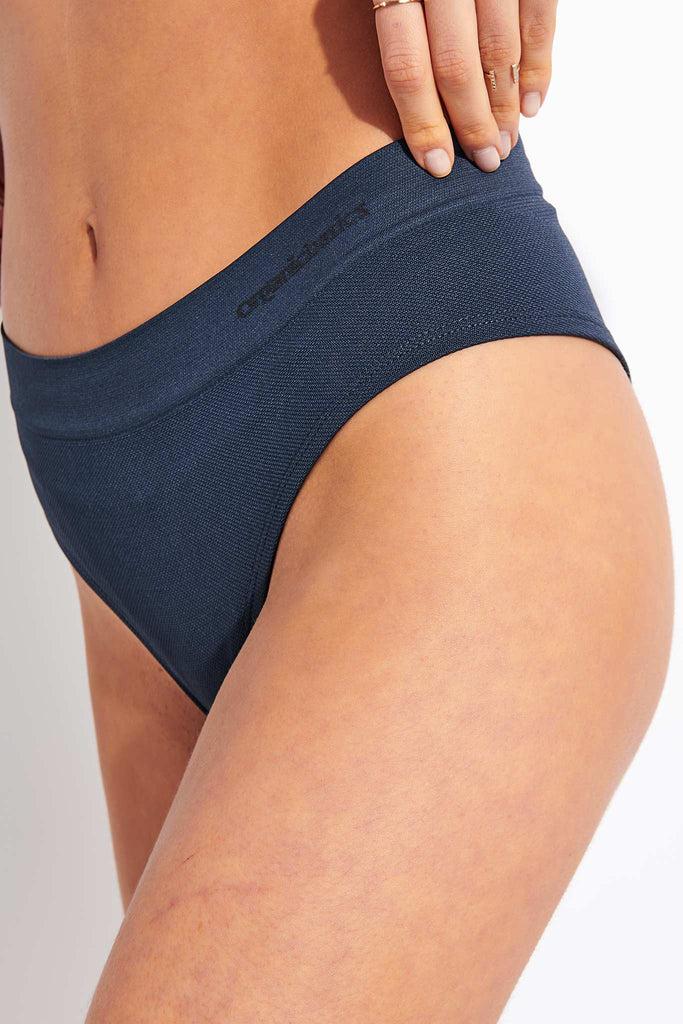 Organic Basics Active Hipster Briefs - Dusty Blue