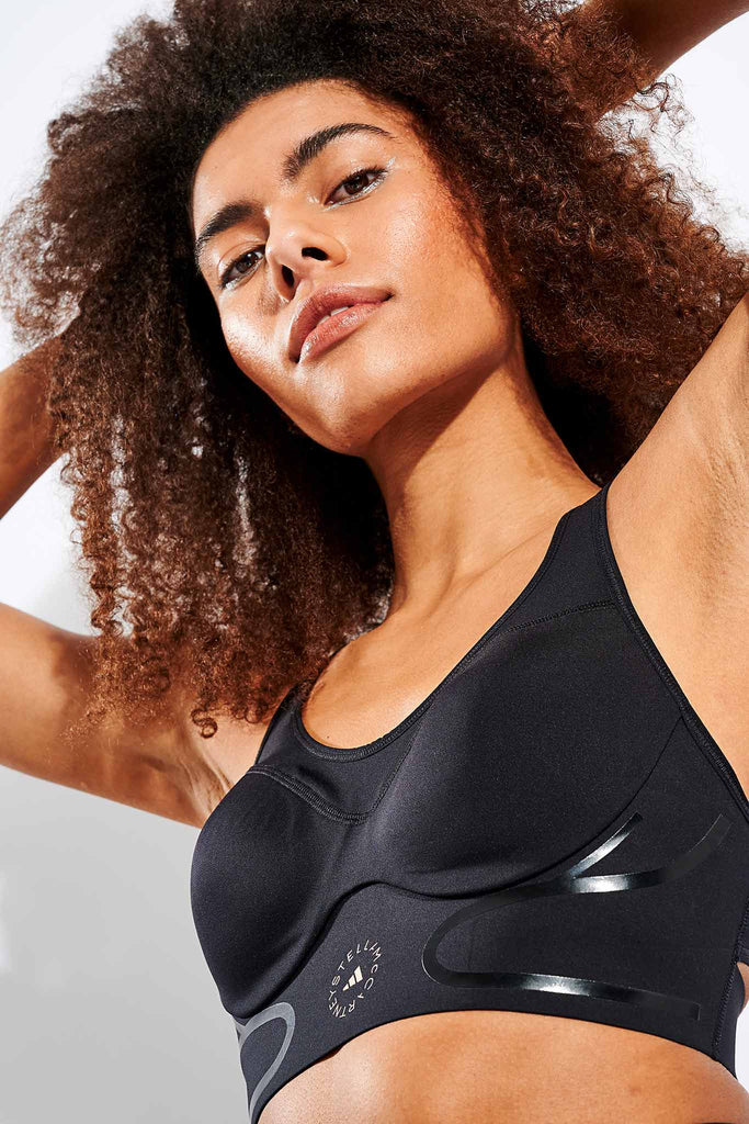 TruePace High Support Sports Bra - Black